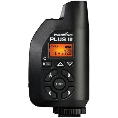 PocketWizard Plus III Transceiver
