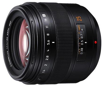 Panasonic Leica D Summilux 25mm f/1.4 AF Lens for Four Thirds (L-X025 Version)
