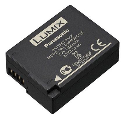 Extra Panasonic DMW-BLC12 Battery