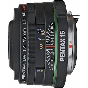 Pentax 15mm f/4 Ultra Wide Angle Lens
