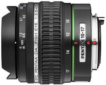 Pentax 10-17mm f/3.5-4.5 Zoom Fisheye to Super Wide-Angle SMCP-DA ED