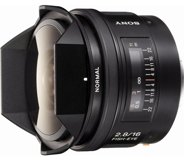 Sony SAL- 16mm f/2.8 Fisheye