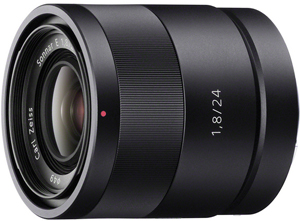 Sony 24mm f/1.8 E-Mount Carl Zeiss Sonnar Lens