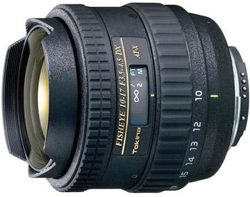 Tokina 10-17mm f/3.5-4.5 DX Fisheye for Nikon
