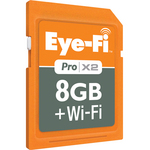 Eyefi 8GB + Wi-Fi (SDHC) Memory