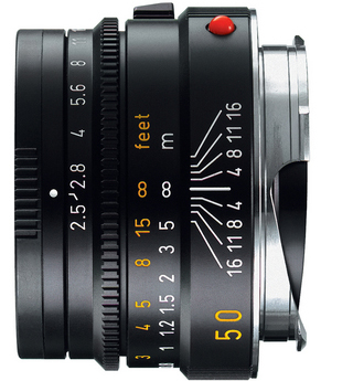 Leica 50mm f/2.5 Summarit-M Manual Focus Lens