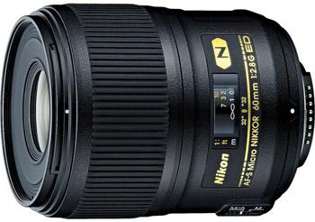 Nikon 60mm f/2.8G AF-S ED Micro