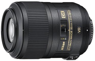 Nikon 85mm f/3.5G AF-S DX Micro ED VR
