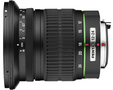 Pentax 12-24mm f/4 ED AL (IF) Zoom Super Wide Angle SMCP-DA