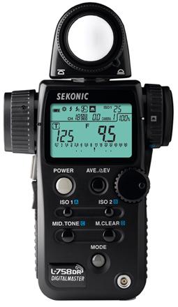 Sekonic L-758DR Lightmeter