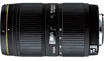 Sigma 50-150mm f/2.8 II EX DC HSM for Nikon