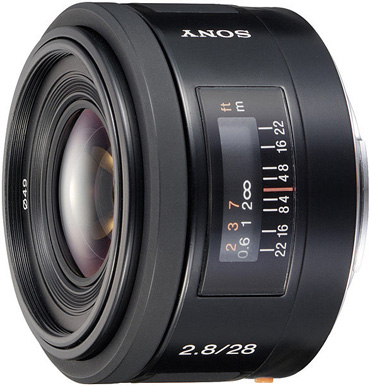 Sony 28mm f/2.8