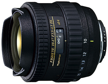 Tokina 10-17mm f/3.5-4.5 DX Fisheye for Canon