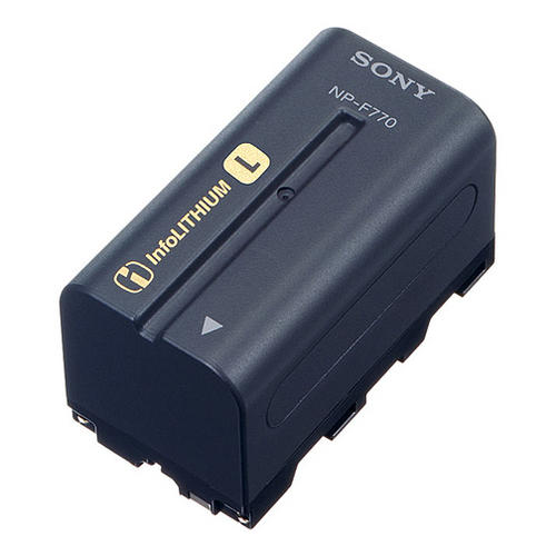 Extra NP-F770 Battery for Sony FS100/FS700 Camcorders