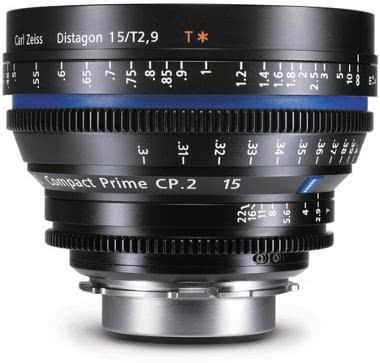 Zeiss Compact Prime CP.2 15mm/T2.9 Micro 4/3 Mount