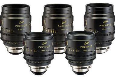Cooke Panchro Primes Cinema Lens Set (PL Mount)