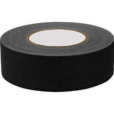 "General Brand Gaffer Cloth Tape - Matte Black 2"" x 12 Yards"