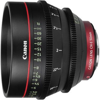 Canon CN-E 50mm T1.3 L F Cine Lens