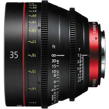 Canon CN-E 35mm T1.5 L F Cine Lens
