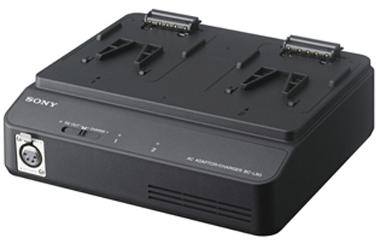 Sony BC-L90 Battery Charging Station w/ BP-FL75 Olivine V Mount Battery for PMW-F55/F5