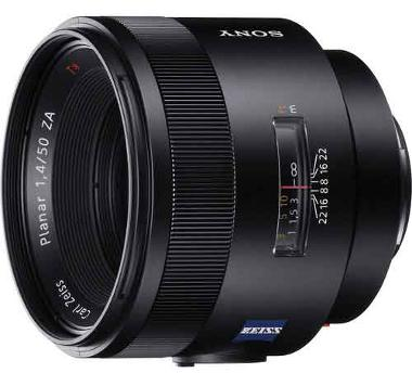 Sony 50mm f/1.4 Carl Zeiss Planar T* ZA Lens