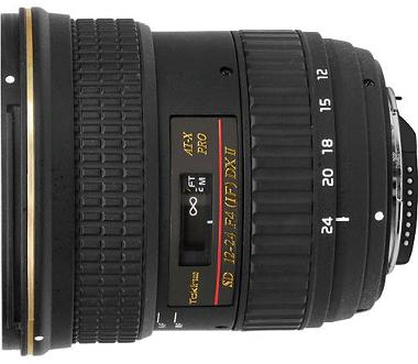 Tokina 12-24mm f/4 AT-X 124 AF Pro DX II Lens for Nikon