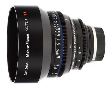 Zeiss Compact Prime CP.2 50mm/T2.1 Makro for EF Canon Mount
