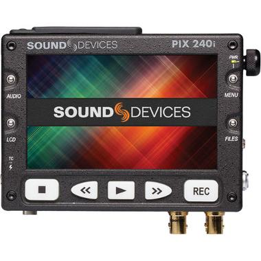 Sound Devices PIX 240i Video Recorder with Timecode