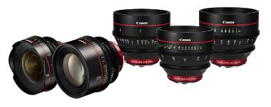 Canon CN-E Primes Cinema Lens Set (EF Mount)