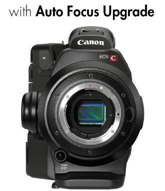 Canon EOS C300 EF Cinema Camcorder with Auto Focus Upgrade