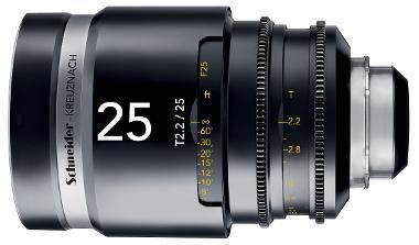 Schneider Cine-Xenar III 25mm/T2.2 (EF Mount)
