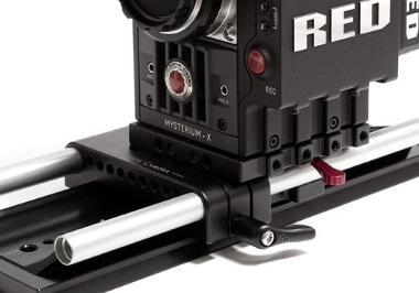 19mm Rail Cinema Camera Baseplate Adapter
